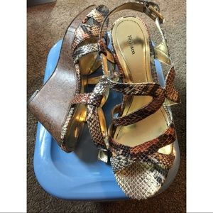 NWOT Style&Co Wedge Sandals
